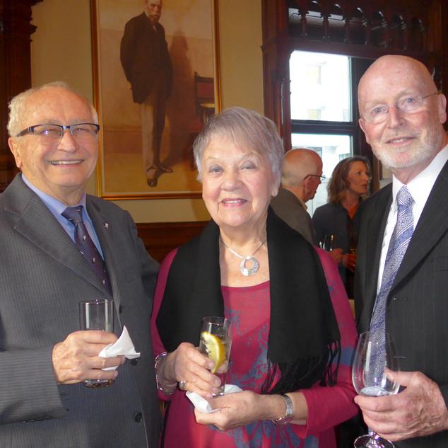 Dr Paul Germain, son épouse Anne et Dr Robert Dorion