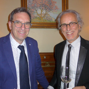 Dr Gilles Lavigne et Dr Jean-Paul Goulet