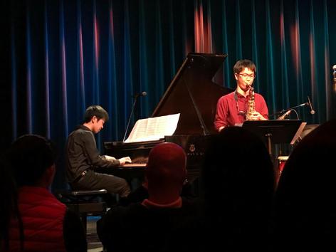 Duo performance with Kei Matsumaru at the student showcase at Berklee
