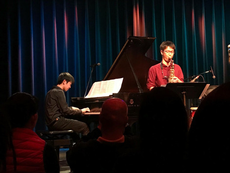 Duo performance with Kei Matsumaru at the student showcase at Berklee