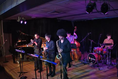 Sextet performance at Berklee