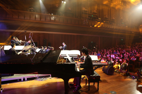 Contemporary Institute Joint Jazz     Ensemble China Tour by Berklee and Shanghai Conservatory of Music