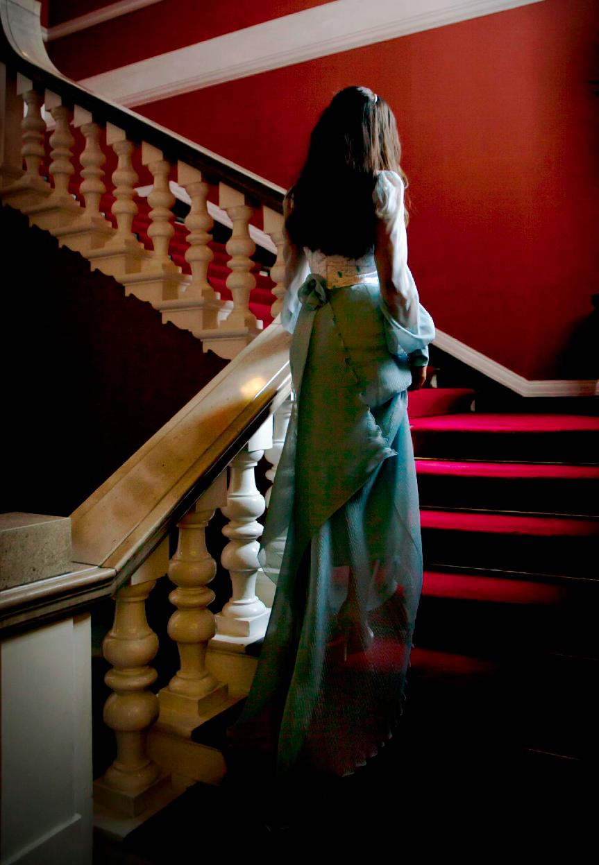 Wedding Dress Back View