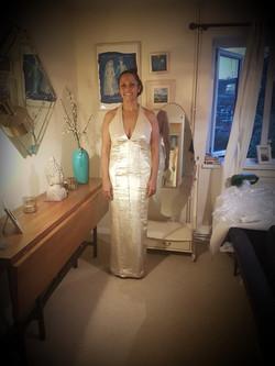 Silk Lame Dress