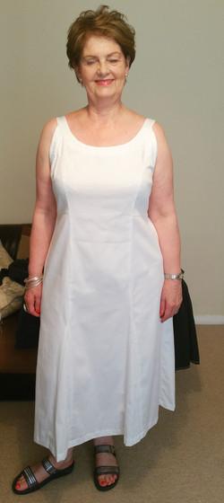 Custom made Godet Dress
