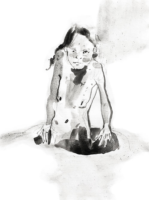 """Girl N.71 Framed. Serie """"A Thousand Girls"""""""