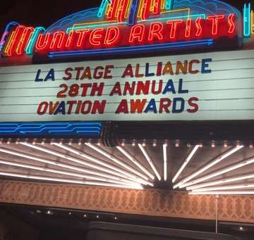 2017 Ovation Awards - A Love Letter to LA Theatre
