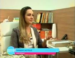 Psicóloga Sarah Castelo Branco