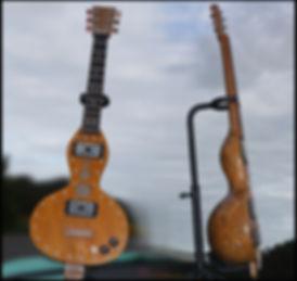 Gourdtar, cigar box, guitar, 6 string