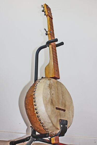 Banjo, american, gourd