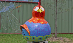 Giant Gourd Chicken Mail Box