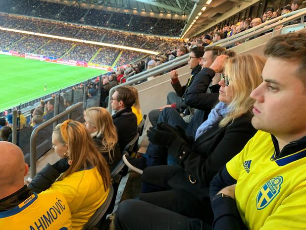 Sverige - Spanien 2019