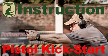 SwissAAA Pistol Kick-Start Course