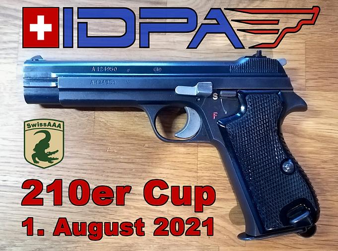 IDPA 210 Cup
