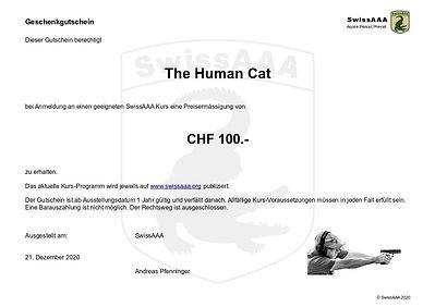 SwissAAA Gift Certificate
