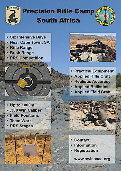 SwissAAA Precision Rifle Camp