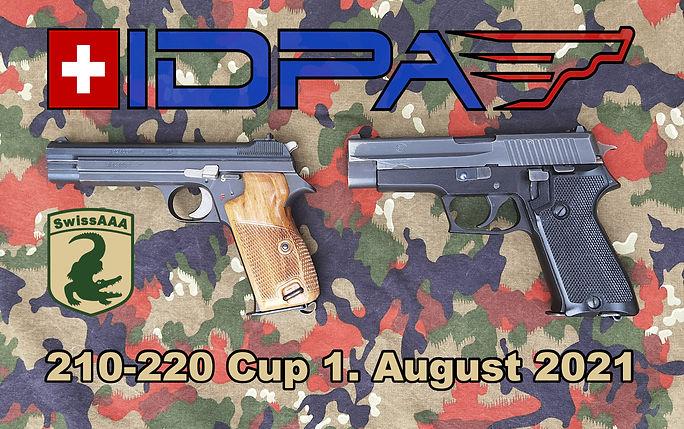 IDPA 210-220 Cup