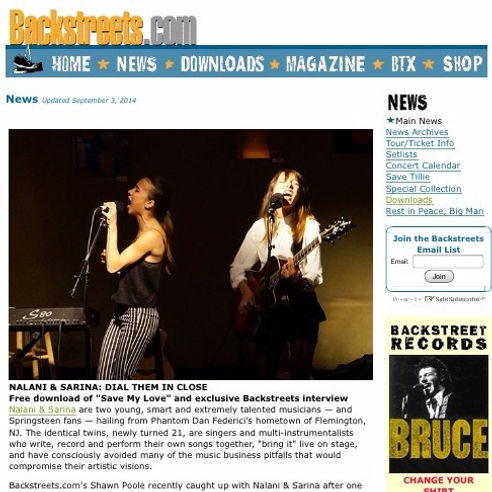 Exclusive Interview for Backstreets Magazine with Shawn Poole