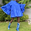 Thumbnail: Lili Frill Mini Dress Cobalt