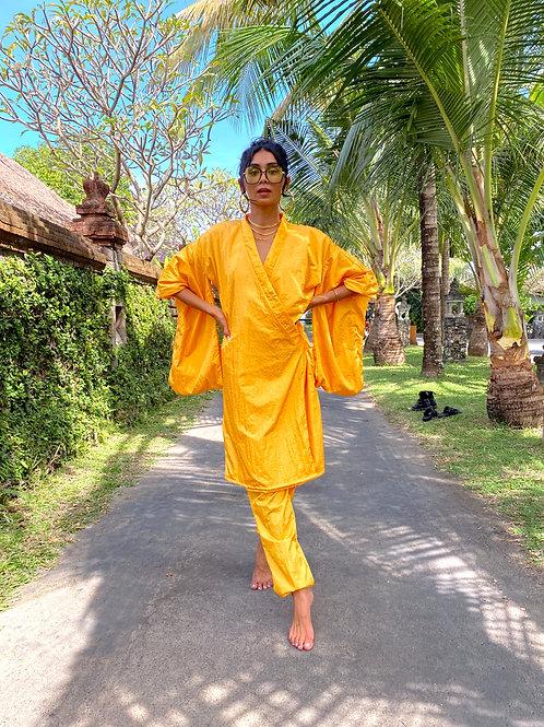 Janie Kimono Yellow