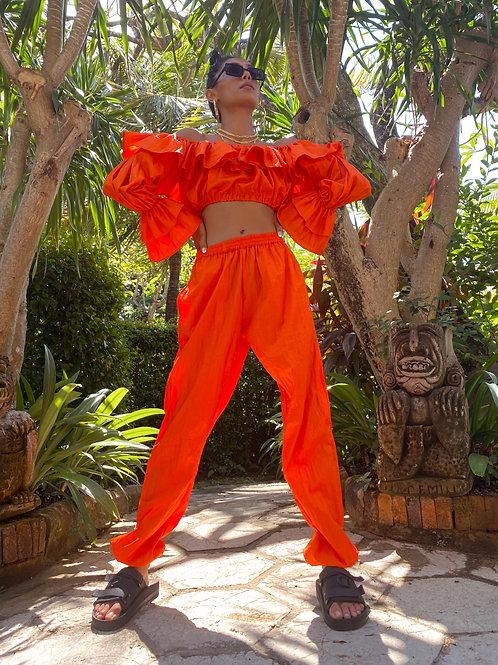 Luna Joggers Orange