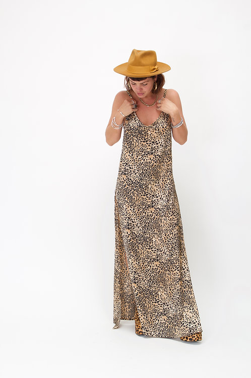 'Rita' Maxi In Cheetah Print