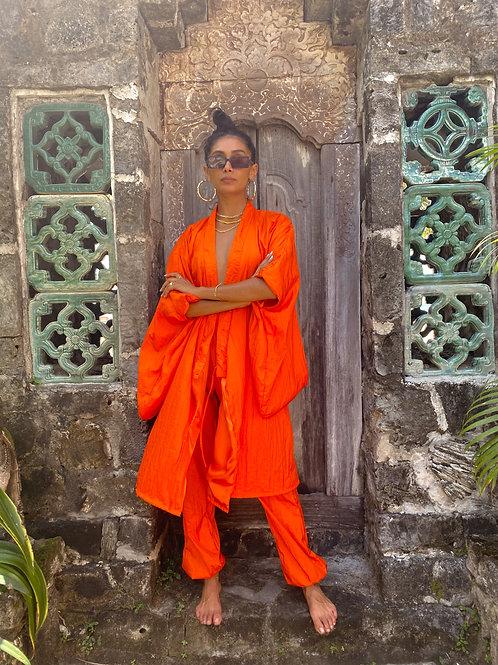 Janie Kimono Orange