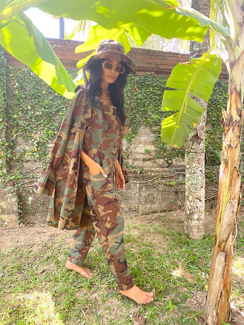 Dolly Dungarees Camo