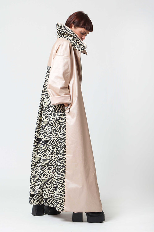 The 'Isla' Coat In Pale Pink
