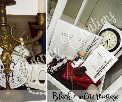 Black & White Vintage