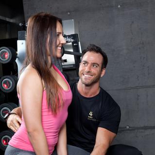 Hanteltrainings Fitness