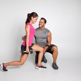 Kraft-/Ausdauertraining Fitness