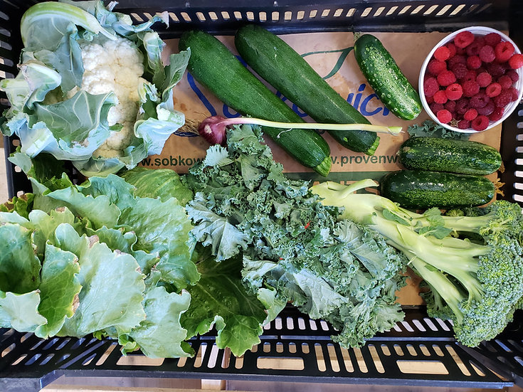 CSA Lite Share (Weekly): $24 per week (23 weeks)