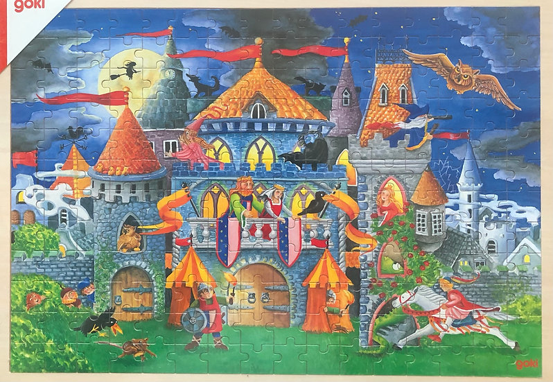 Wooden tray puzzle192 piece Fairy tales
