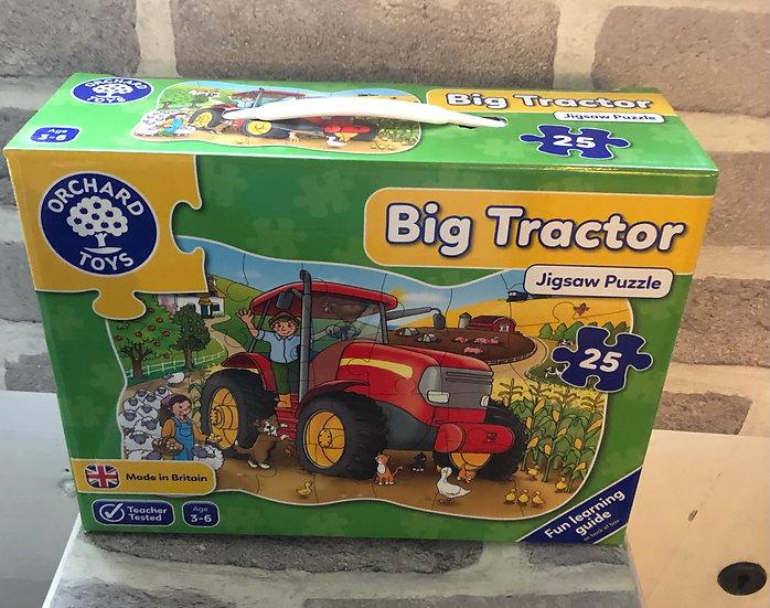Floor puzzle Big tractor