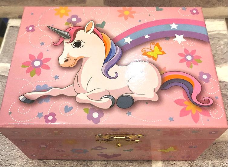 Musical jewwellery box Unicorn