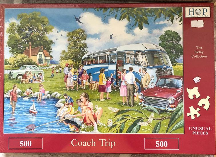 H O P Jigsaw puzzle...500 piece....Coach trip