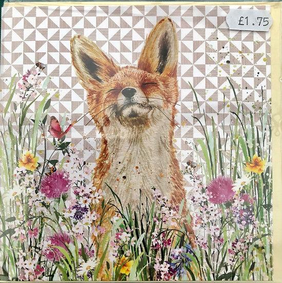 Card - Fox - Happy Birthday