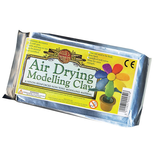 Air drying modelling clay for making gifts for Mum and Nan
