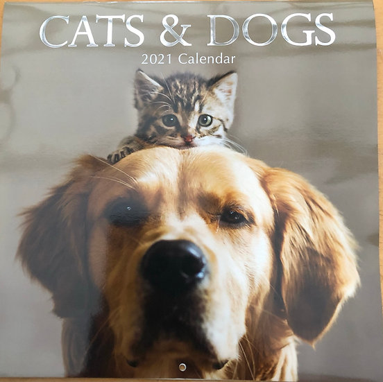 Calendar 2021 - Cats and Dogs