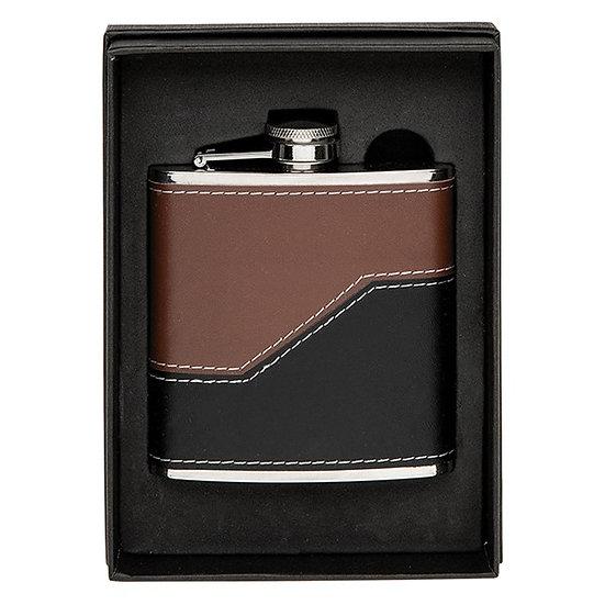 Hip Flask Brown Black X56160