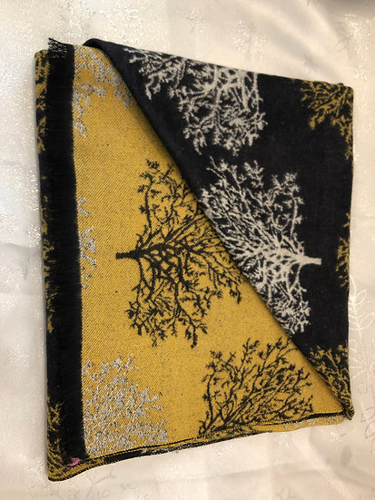 Pashmina, tree design