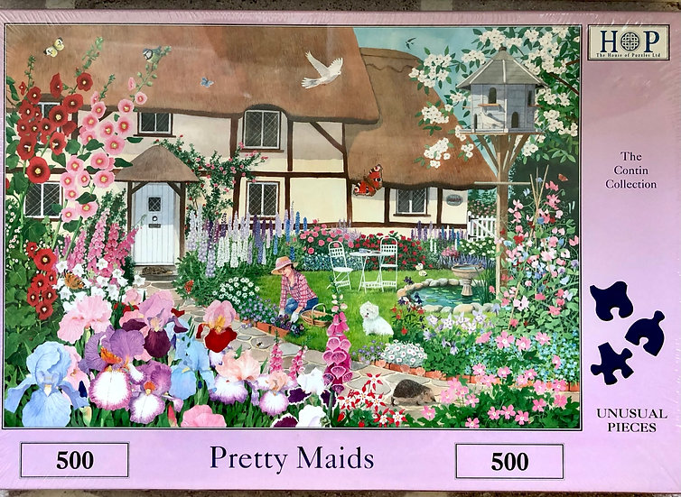 H O P Jigsaw puzzle...500 piece....Pretty maids.