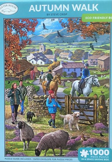 Jigsaw puzzle 1000 pce Autumn walk
