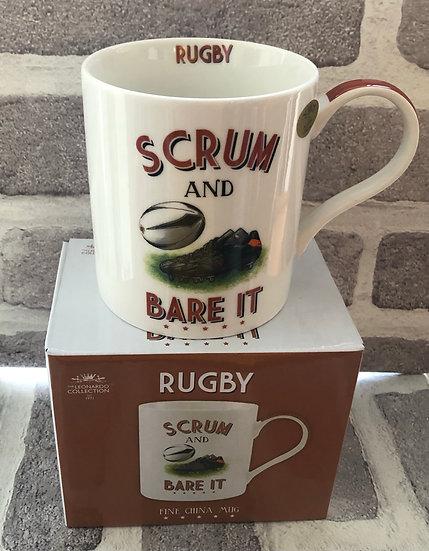 Cheeky sport mug Rugby