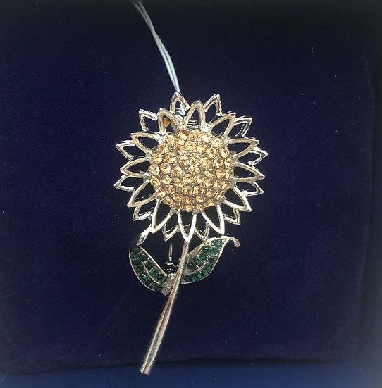 Sunflower Brooch IBRO0995