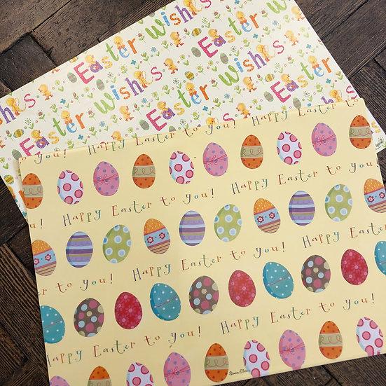 Easter Gift wrap - Single sheet
