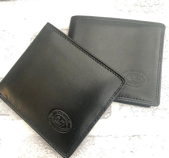 Leather wallet  Black   1037