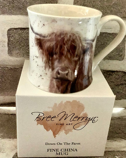Highland Cow Mug  Bree Meryn