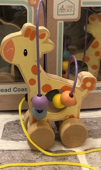 Giraffe Bead Coaster